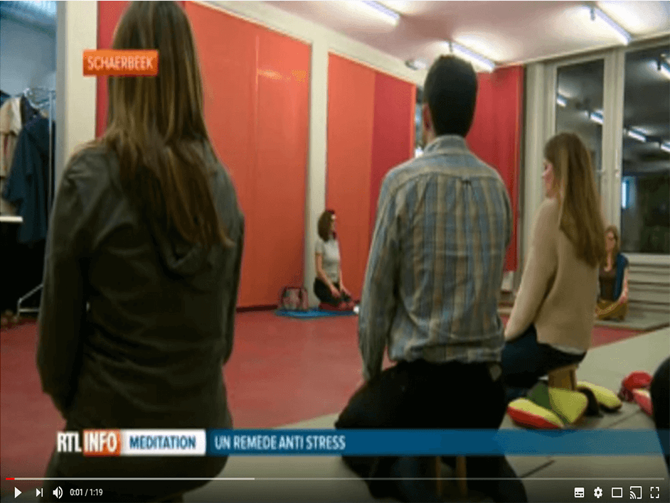 Pleine Conscience en entreprise et prévention des maladies liées au stress - RTL - Mindfulness Fr 02