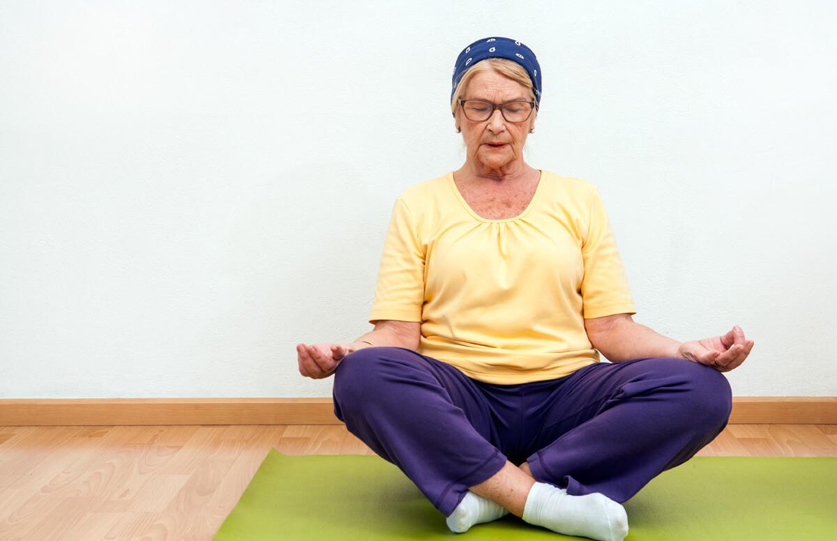 Mindfulness et les seniors